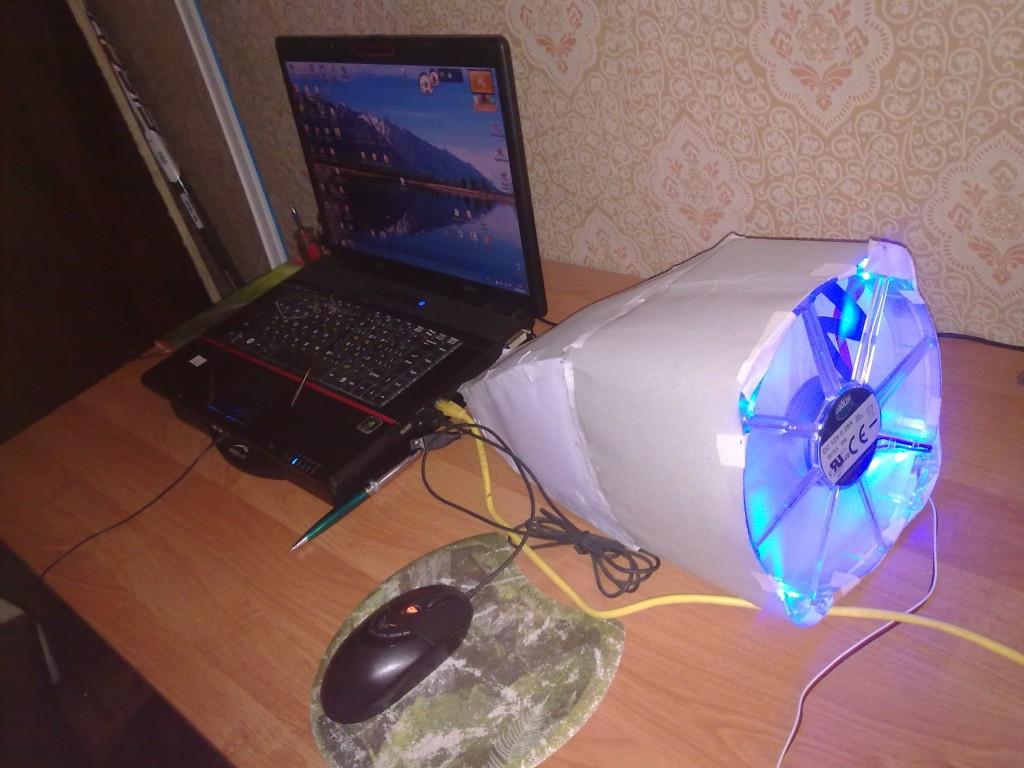Чем охлаждать ноутбук своими руками