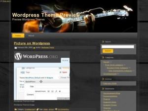 музыкальный шаблон wordpress с внешними ссылками